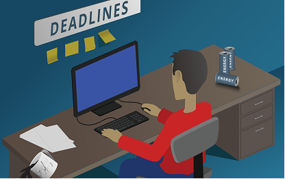 Project management deadlines